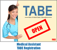 Medical Assistant TABE Open