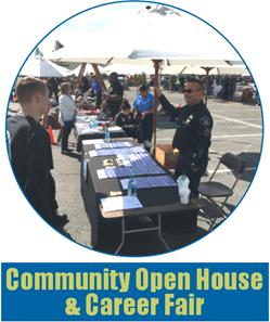 Donate_Community Open House & Career Fair_Button