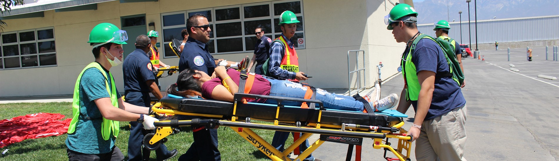 Community Emergency Response Team (CERT) Emergency Response Drill